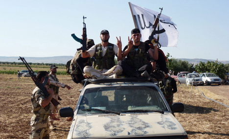 Radical German Muslims join fight in Syria