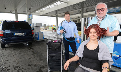 'Tank & Cut' hairdressers hit petrol stations