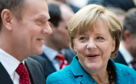 Merkel: Germany doesn't want to dominate Europe