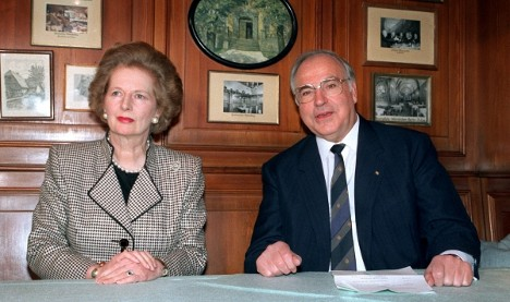 Thatcher's top 10 quips about the Germans