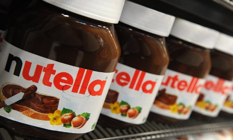 Tonnes of nicked Nutella gives cops bellyache