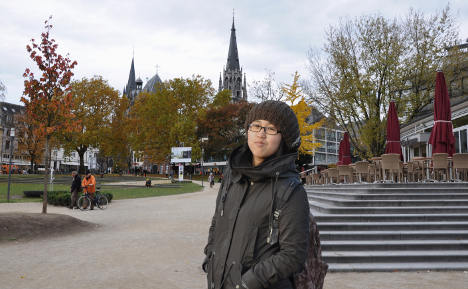 'Student life in Aachen is easy and a lot of fun'