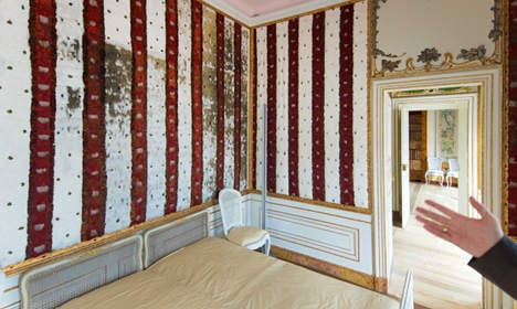 Unique baroque feather room opens for visitors