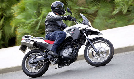 BMW unveils motorcycle tie-up with Indian firm