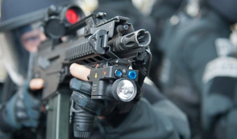 Germany doubles small arms exports