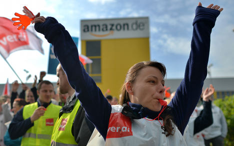 First ever strike hits Amazon's German unit