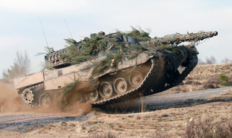 Indonesia gets 'secret go-ahead' for tank deal
