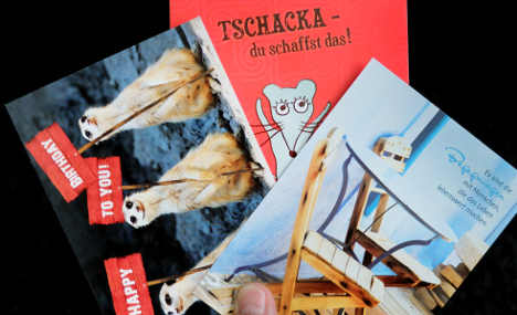 Germans still spend on classic greeting cards