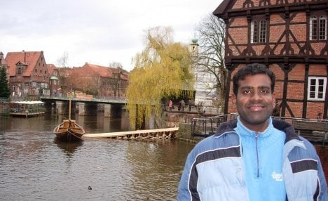 'Lüneburg is a small and cosy city'