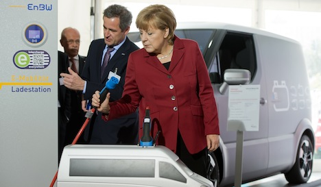 Electric cars fail to gain traction in Germany
