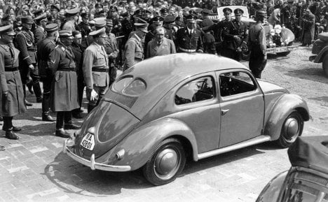 VW's 75th birthday marred by Nazi roots
