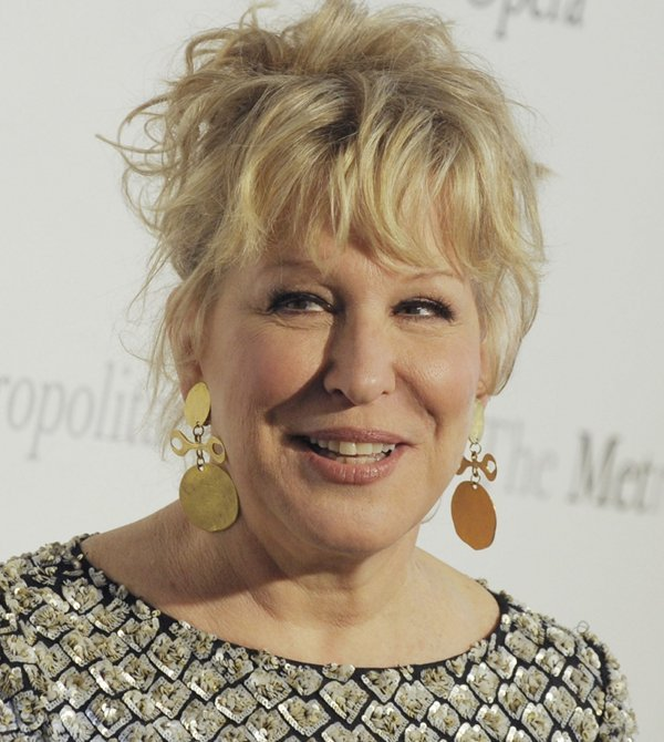 Bette Midler<br>I married a German. Every night I dress up as Poland and he invades me.Photo: DPA