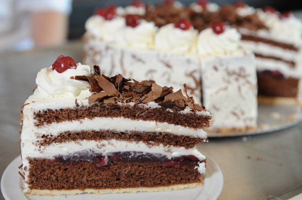 """Further west, he could also have gone to the black forest and told the people there, """"Ich bin ein Schwarzwälder"""" - I'm a creamy cherry and chocolate cake. Delicious.Photo: DPA"""