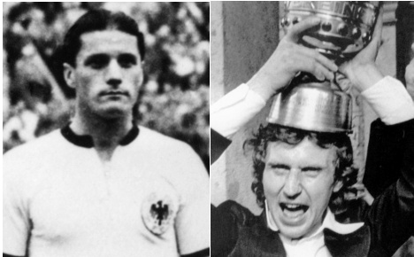 Germany mourns two football legends