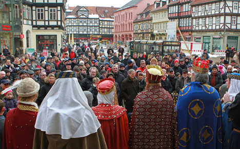 The imperial town of Quedlinburg