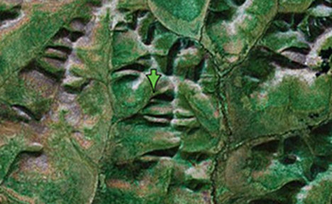 Software finds faces in the world's folds