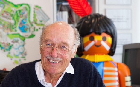 Playmobil mogul still in the game at 80