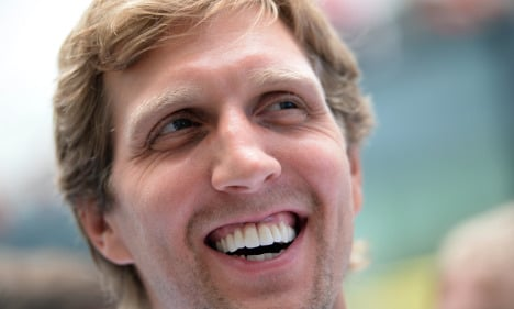 Nowitzki puts basketball on hold for family