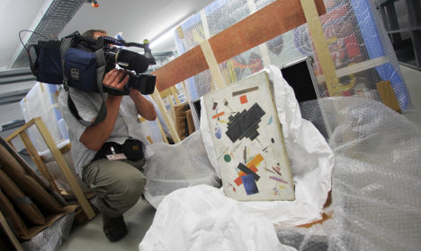 German raids put forged art gang in the frame