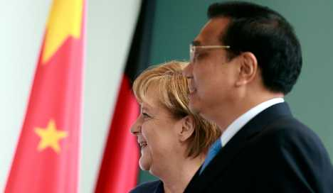 Key German exports eclipsed by China