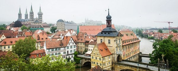 Bamberg's beautiful old town