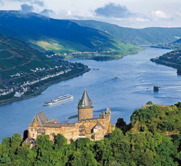 Rhine valley home to 'river of destiny'