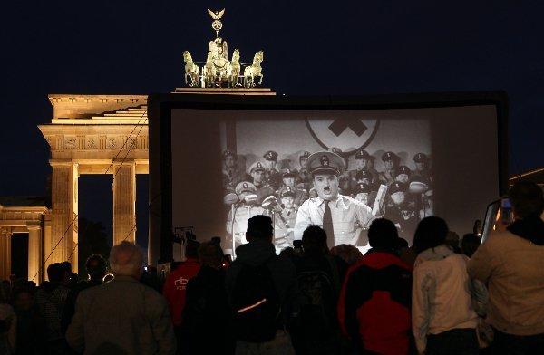 """Everyone is so *sensitive* here about the Third Reich. Yes, yes, it has to be thus - and the alternative would be unthinkably dreadful. But when a friend overseas asks how things are in the fatherland, just one little joke about marching east can't hurt can it? It's just between us. That and the Blackadder quip about being """"sausage-side"""". Puerile, but very, very funny. Photo: DPA"""