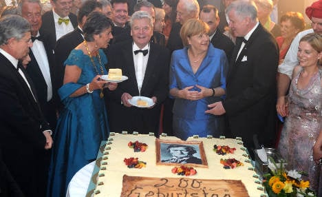 Wagner festival opens with glitzy gala