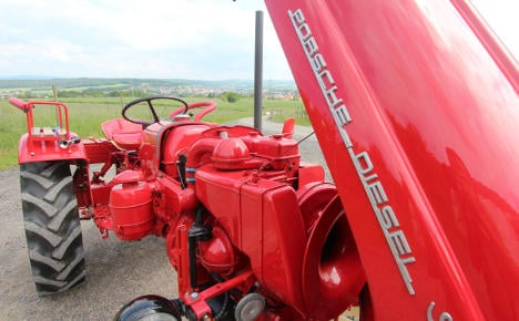 Porsche tractor fans see 50 years of nostalgia