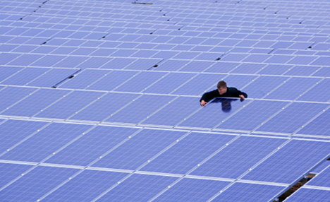 Lights out for solar cell makers Conergy