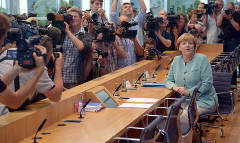 Merkel at press grilling: it's a free country