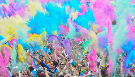 Festival-goers: 'We've been permanently dyed'