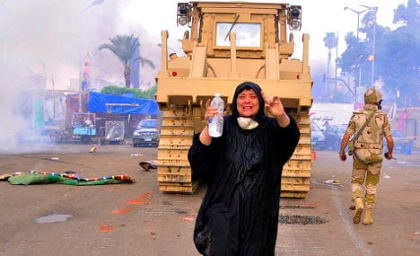 Germany urges Egypt to stop deadly crackdown