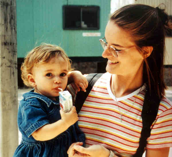 <b>Au pair:</b> Au-pairing can give you a home away from home. The host family will often take you in and treat you as one of the family. Photo: DPA