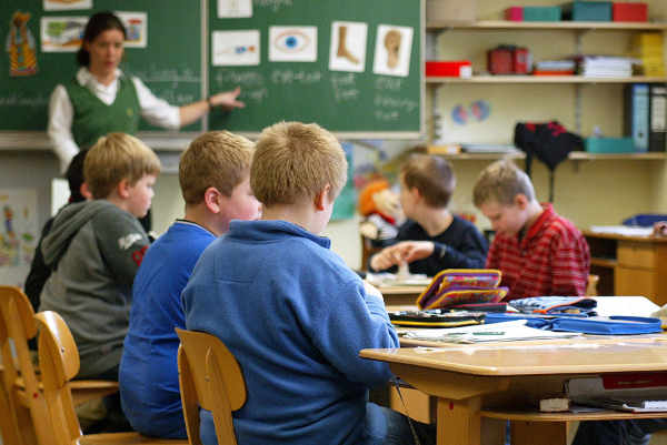 <b>Teach English:</b> Native English speakers are always sought after in Germany. If you work at a school you are likely to have an early start but also an early finish giving you plenty of free time. Photo: DPA