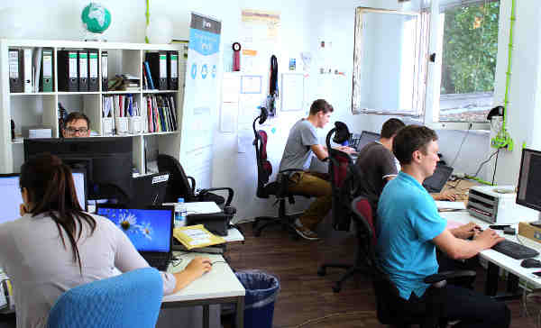 <b>Berlin start-up:</b> Break into the competitive world of start-ups in Berlin. You are unlikely to be paid but an internship will give you some great experience while living in one of the world's most trendy cities. Photo: DPA