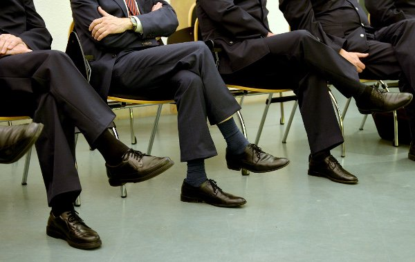 Why you shouldn't<br>4) They might judge you for your scuffed shoes. Although they often dress less formally than their Anglo-Saxon cousins, they are often more meticulous about their dress and are not afraid to tell you if your appearance is not up to scratch.  Photo: DPA