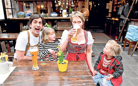 Brit family goes native in Germany for TV