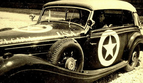 Top Nazi's car sits in US garage for years