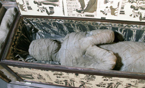 Mummy found in attic could be 2,000 years old