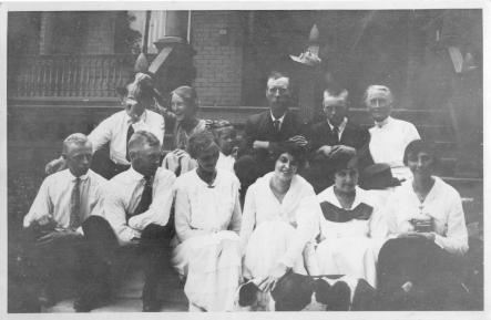 August 1917, Mildred top row, second from leftPhoto: Courtesy of Eric Carlson