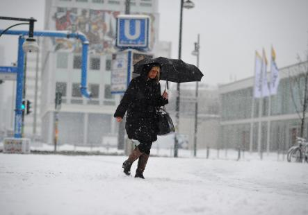 And a reason I don't like it...<br>I don't like the long winters – something which is an unavoidable part of Berlin life. Photo: DPA