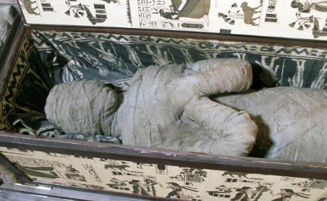 Attic 'mummy' mystery solved – it was plastic