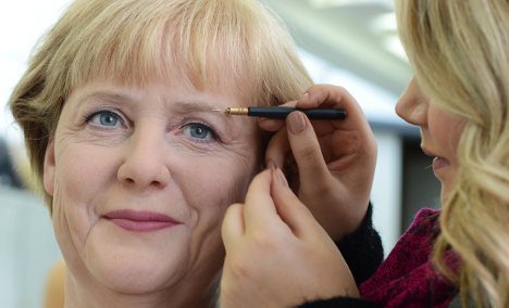 Merkel gets a makeover (in wax)