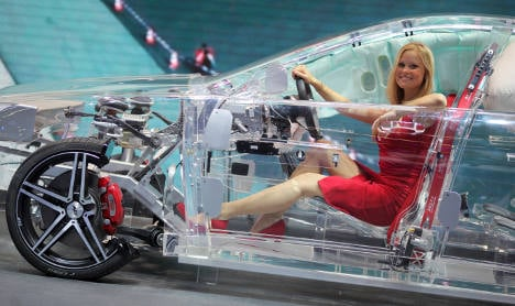 Carmakers show off latest models at IAA