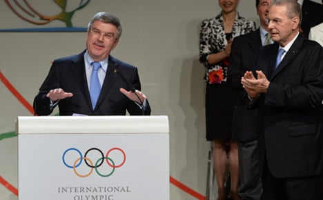 From fencer to Olympic boss – Thomas Bach