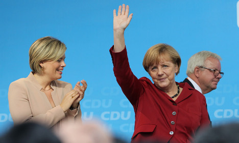 Merkel woos voters with 'Mummy' campaign