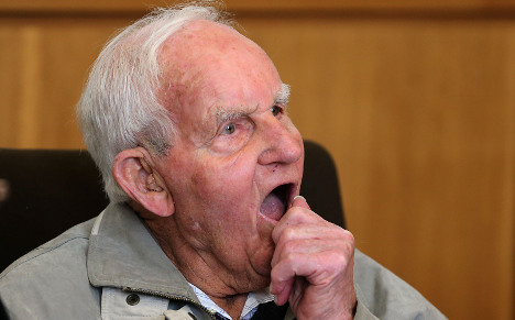 SS officer, 92, faces life in prison for 'murder'