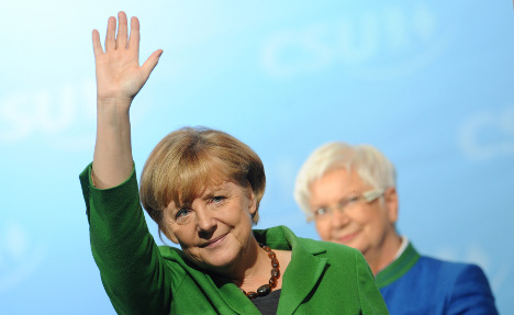Merkel in personal pitch as election nears