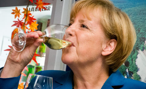 Merkel 'open' to grand coalition with SPD